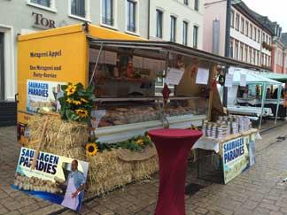 Wochenmarkt in Landau Pfalz