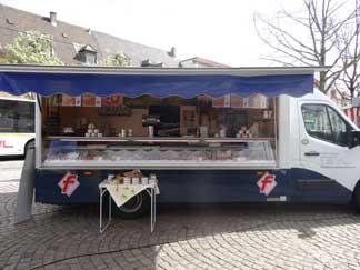 Wochenmarkt in Neustadt Weinstrasse